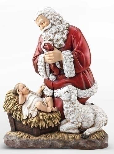 24-inch Kneeling Santa Slim Profil