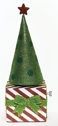 20-inch Musical Package Rotate Tree