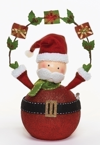 17-inch Musical Santa With Moving Head