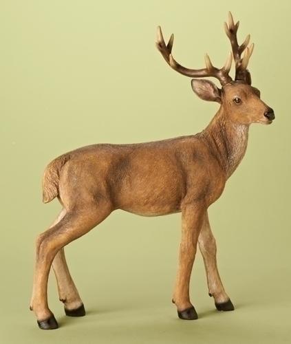 23.75-inch Standing Deer Figure