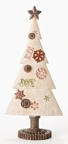 15.5-inch Christmas Tree With Joy
