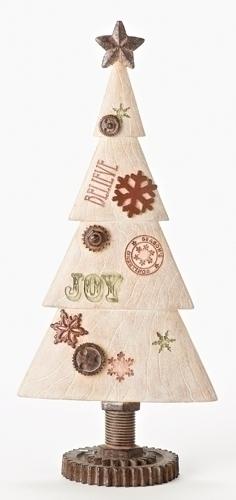 15.5-inch Christmas Tree With Joy