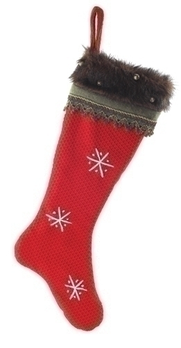26-inch Woodsy Santa Stocking