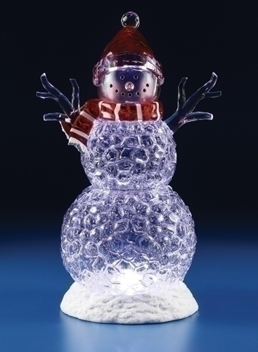 20-inch LED Icy Snowman Figure