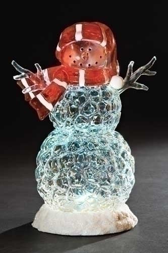 10-inch LED Icy Snowman Figure