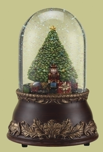 Musical 7-inch 120Mm Tree With Train Dome
