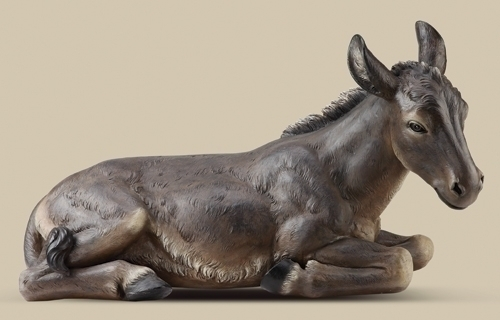 39-inch Scale Clr Oversized Donkey
