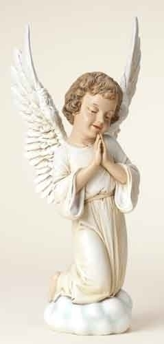 13.75-inch Praying Cherub Fig