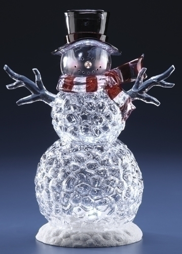 14-inch LED Ice Snowman Fig