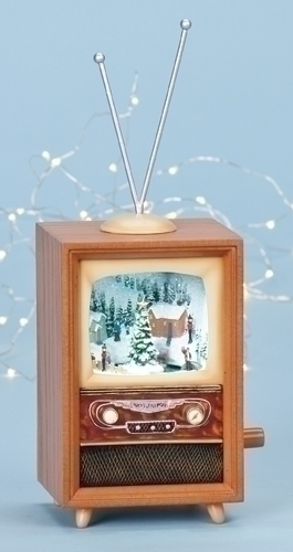 6-inch LED Tv /Winter Scene Fig