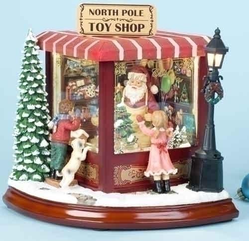 8-inch Santas North Pole Toy Shop