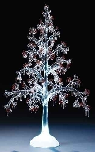 20-inch Acrylic Berry Tree Figure