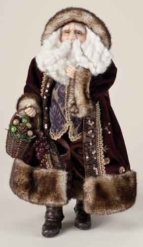 18-inch Burgundy Santa Fig