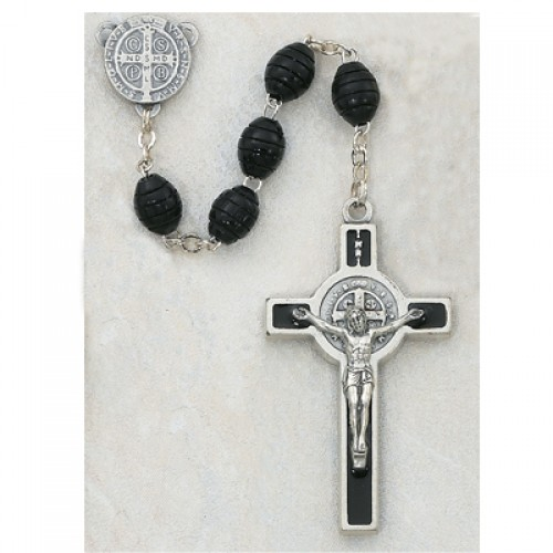 6X8MM Black St. Benedict Rosy