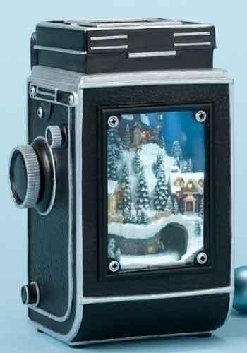 7.5-inch Musical LED Crank Camera