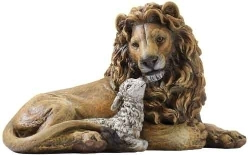 6.5-inch Lion & Lamb Figure