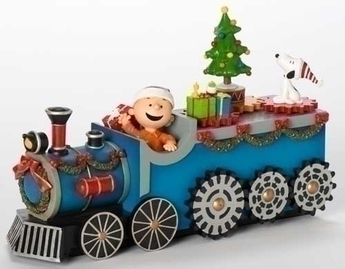Musical 11-inch W Peanuts Train