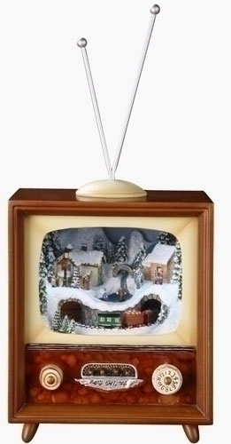 5.5-inch H Musical Tv/Train In Tunnel