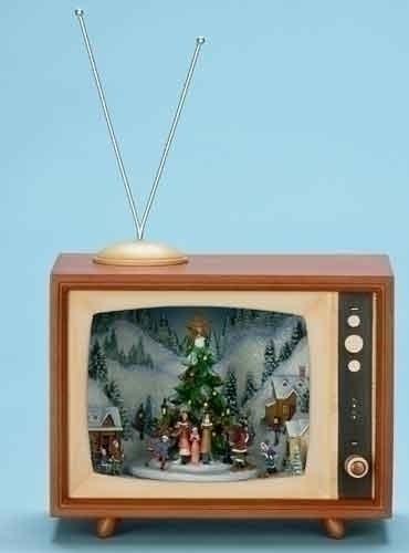 8.75H-inch Musical Tv Box Carol/Tree