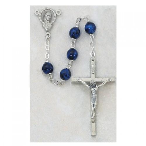 7MM Sapphire Rosary
