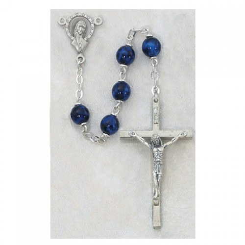 7MM Sapphire Rosary