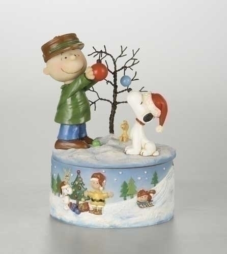 8-inch Musical Charlie/Snoopy Deco Tree