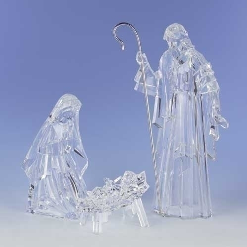 3Pc St 15.5-inch Holy Family Fig