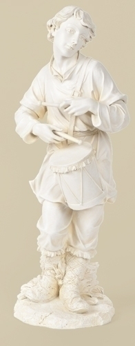 27-inch Scale White Drummer Boy