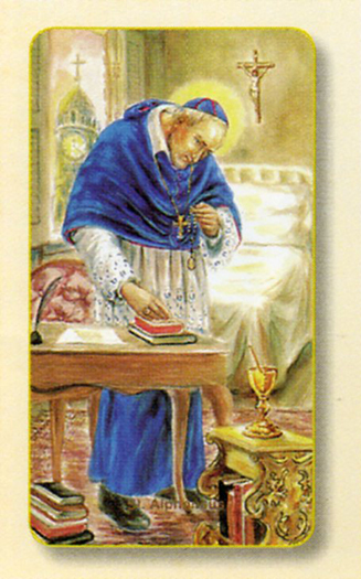 100-Pack - Amm. St Alphonsus Holy Card