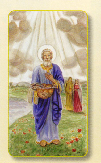 100-Pack - Amm. St Phillip Holy Card