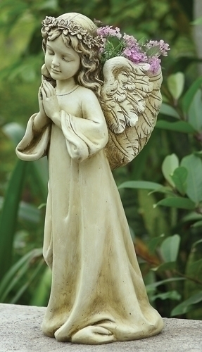 16-inch H Angel Child Planter