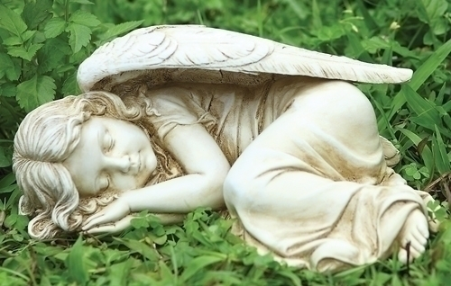 5-inch H Sleeping Garden Angel