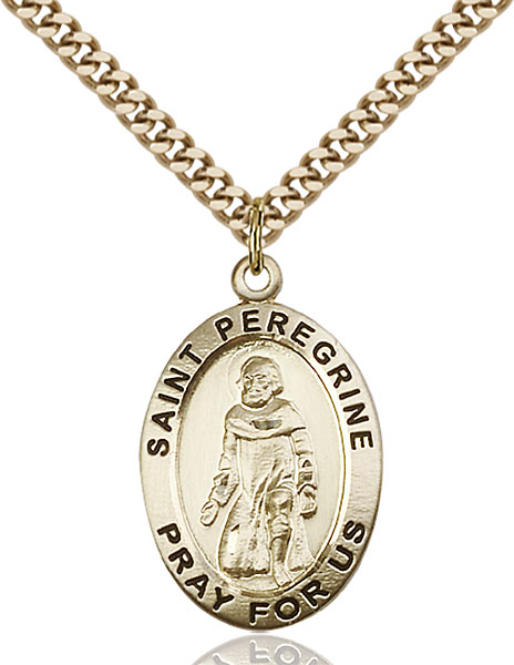 Gold-Filled Peregrine Pendant
