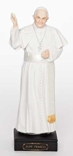 10.75-inch H Pope Francis Figure