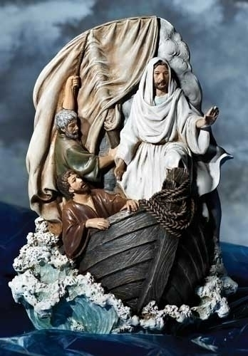 9-inch Jesus Calms The Storm Uffiz