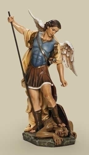 26.5-inch Saint Michael 24-inch Scale