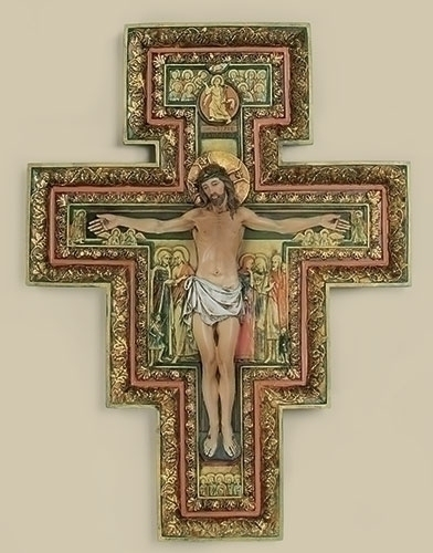 17.75-inch San Damiano Cross