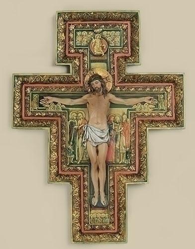 17.75-inch San Damiano Cross