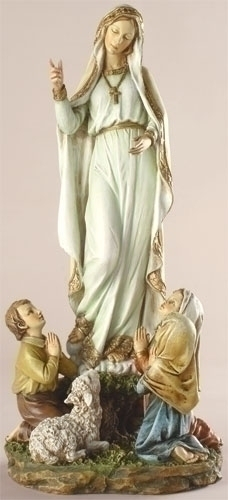 12-inch Our Lady Of Fatima Figure