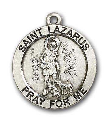 Sterling Silver St. Lazarus Pendant