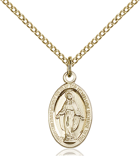 Gold-Filled Miraculous Medal