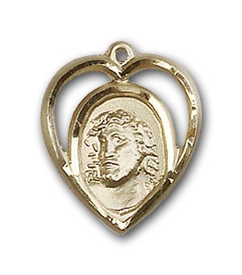 14K Gold Ecce Homo Pendant - Engravable