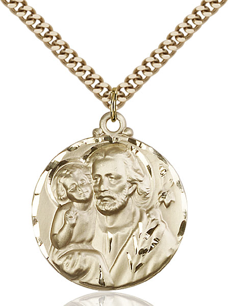 Gold-Filled St. Joseph Pendant