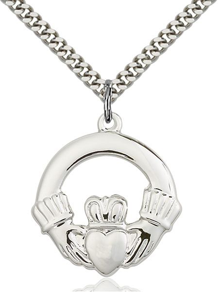 Sterling Silver Claggagh Pendant