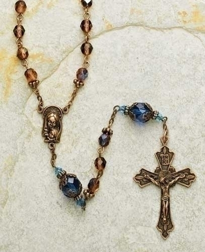 Byzantine Rosry 2Pc St Blue/