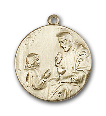 Simple Gold-Filled St. Christopher Pendant - Engrave it!