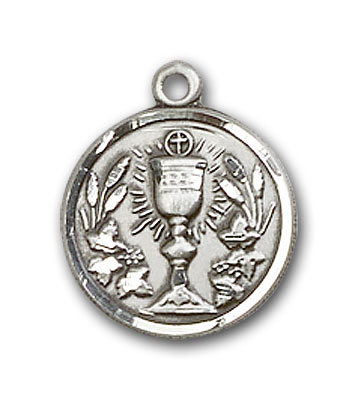 Sterling Silver Communion Chalice Pendant