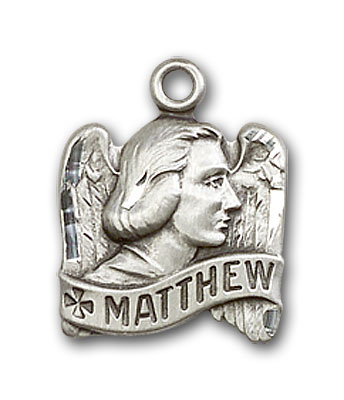 Sterling Silver St. Matthew Pendant