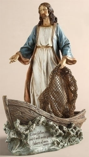 11.25-inch Christ The Fisherman