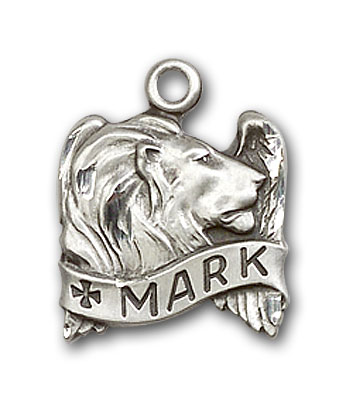 Sterling Silver St. Mark Pendant